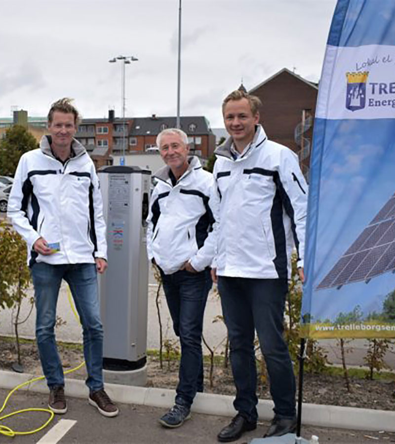 Samarbete med Trelleborgs hamn gällande laddstolpar