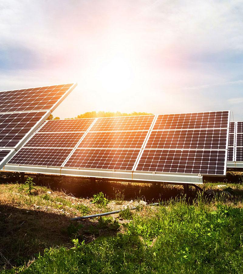 Solceller en lysande energilösning