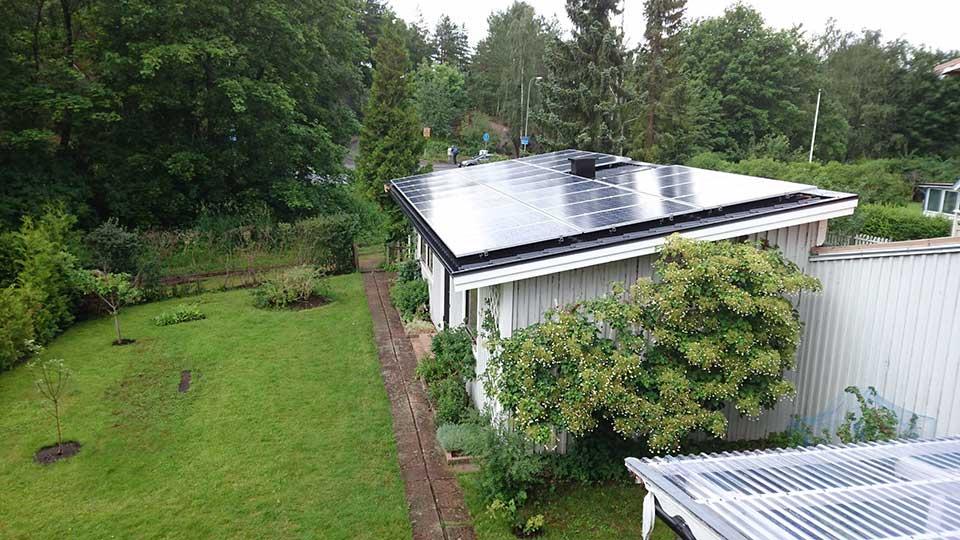 Gästhus, 28 st 260 W Hareon Solar