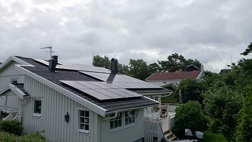 45 st 265W Hareon Solar svarta